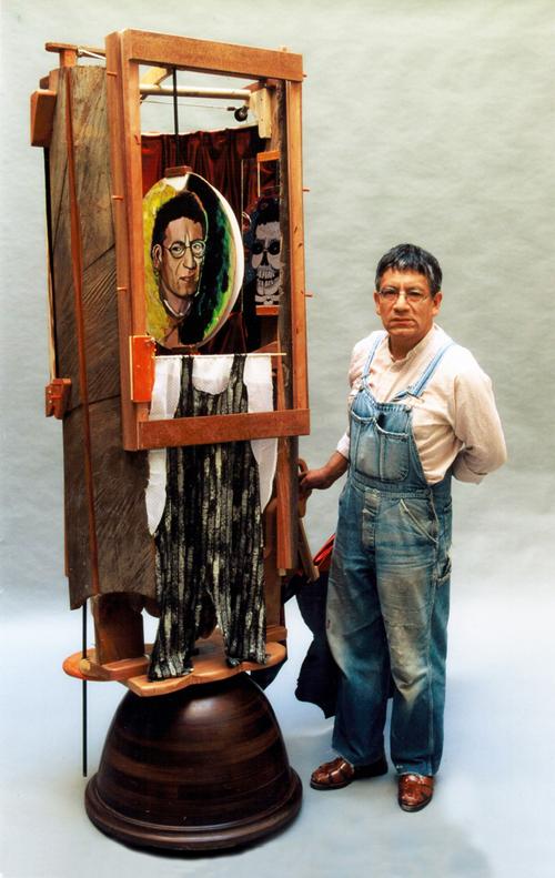 Autoportrait à la mortaiseuse